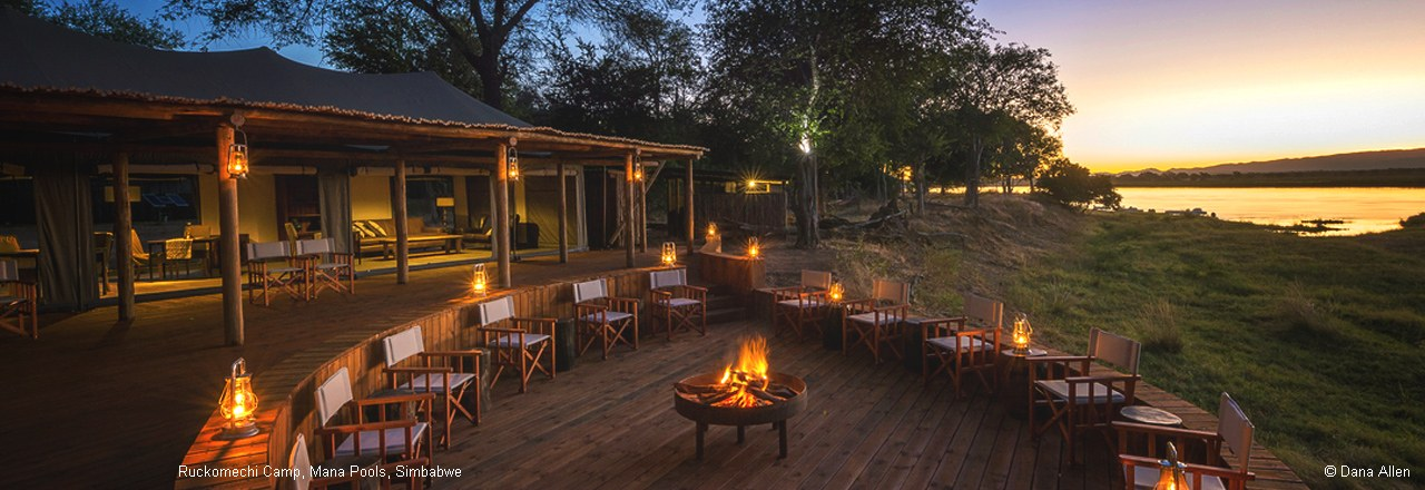 Ruckomechi Camp, Mana Pools, Simbabwe
