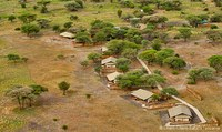 am Rande des Tarangire Nationalparks